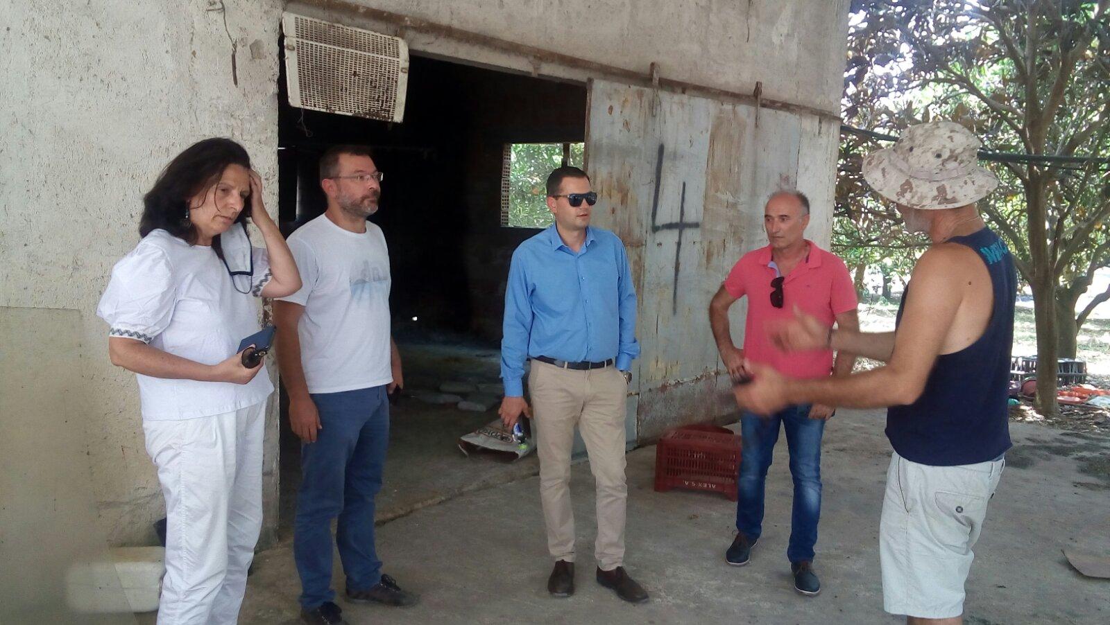 Θ. Βασιλόπουλος: Σε εφαρμογή το πρόγραμμα περισυλλογής νεκρών ζώων και στα πυρόπληκτα της Ηλείας- Ανακοίνωση και από τη ΔΑΟΚ Π.Ε Ηλείας για το θέμα