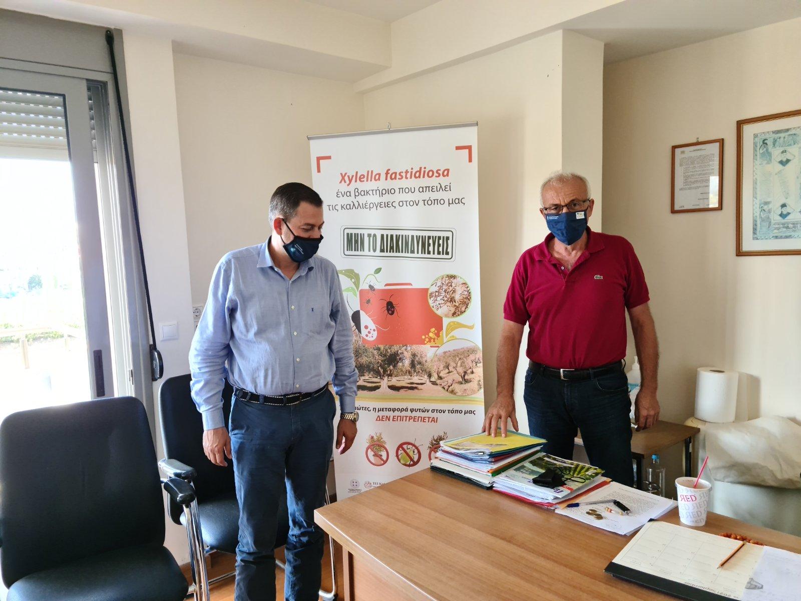 Θ. Βασιλόπουλος: Επίσκεψη στην Κρήτη και συνάντηση με τον ΠεριφερειάρχηΣταύρο Αρναουτάκη για συνέργειες σε διαπεριφερειακό επίπεδο ανάπτυξης τουπρωτογενούςτομέα